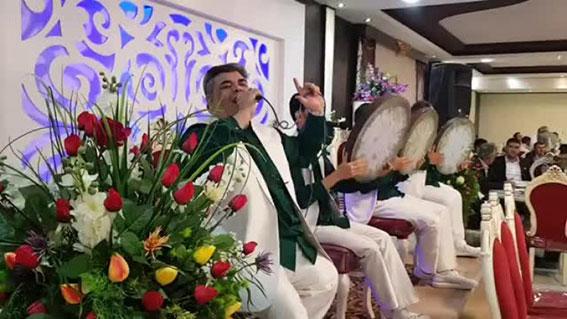 دف نوازی عروسی